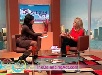 """Mardie on Lifetime Television's """"The Balancing Act"""""""